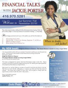 jackie porter certified financial planner and financial advisor in toronto meet jackie