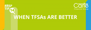 When TFSA is better than RRSP Contributions