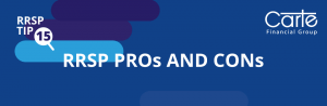 rrsp pros and cons