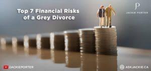 financial risks of grey divorce