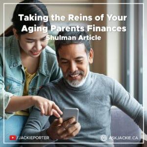 aging parent finance