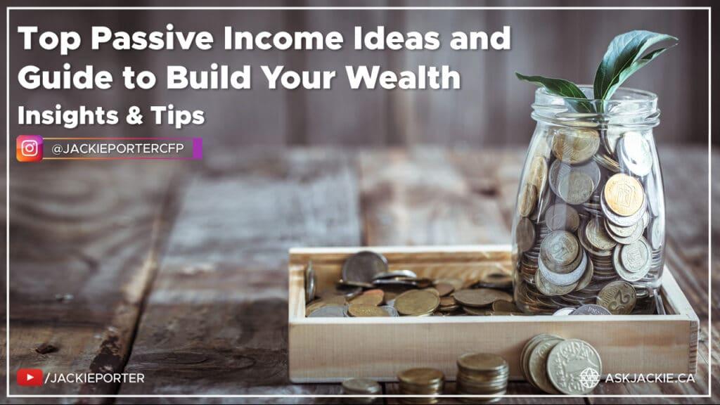 passive income build wealth