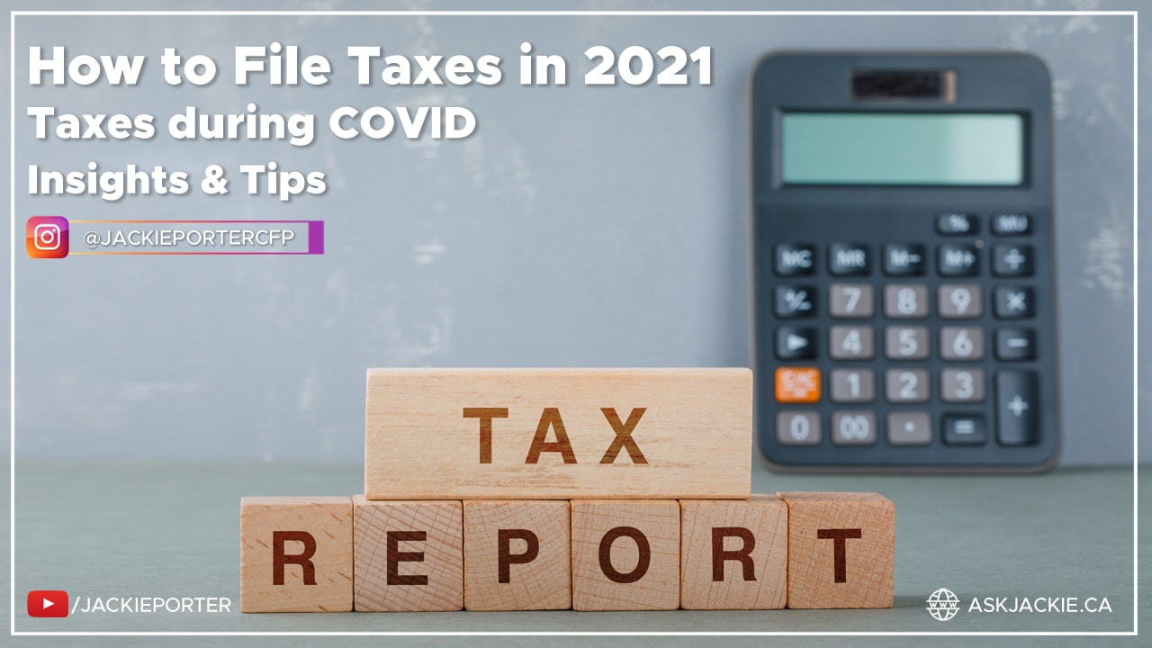 how to file taxes in 2021