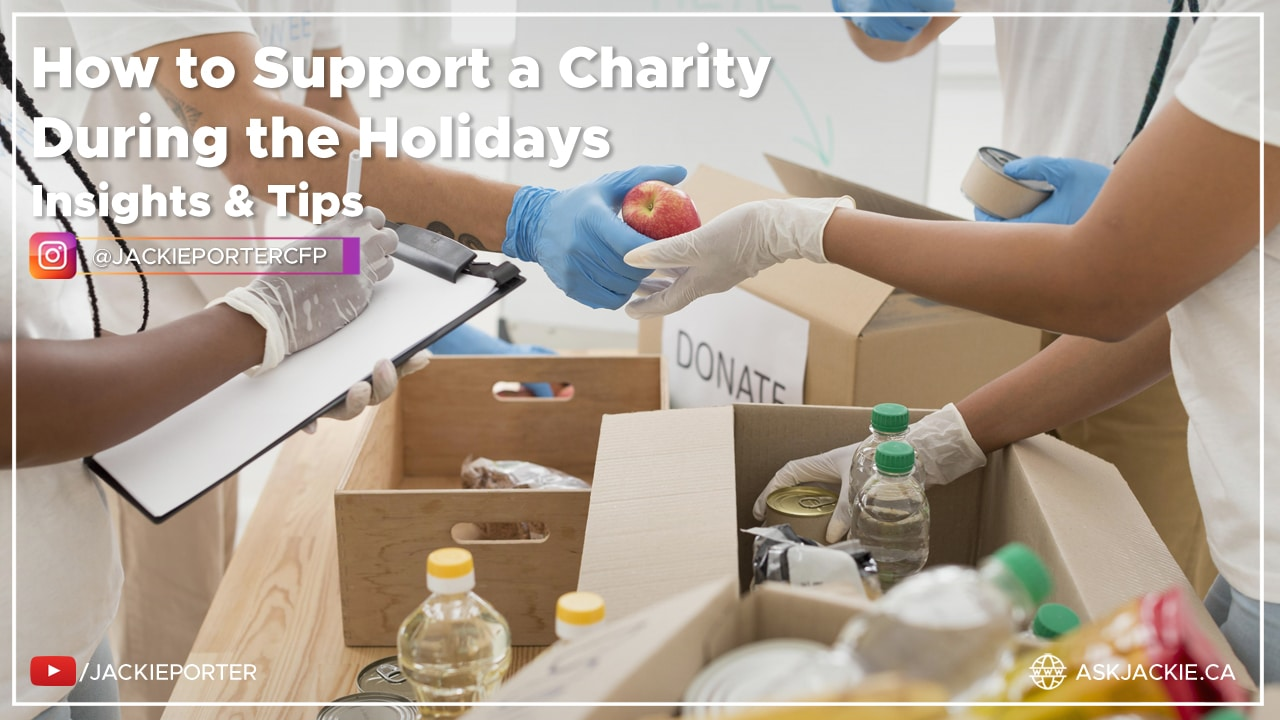 How to Support a Charity During the Holidays
