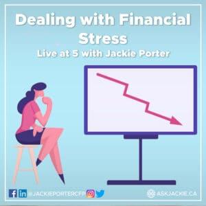 financial stress jackie porter cfp
