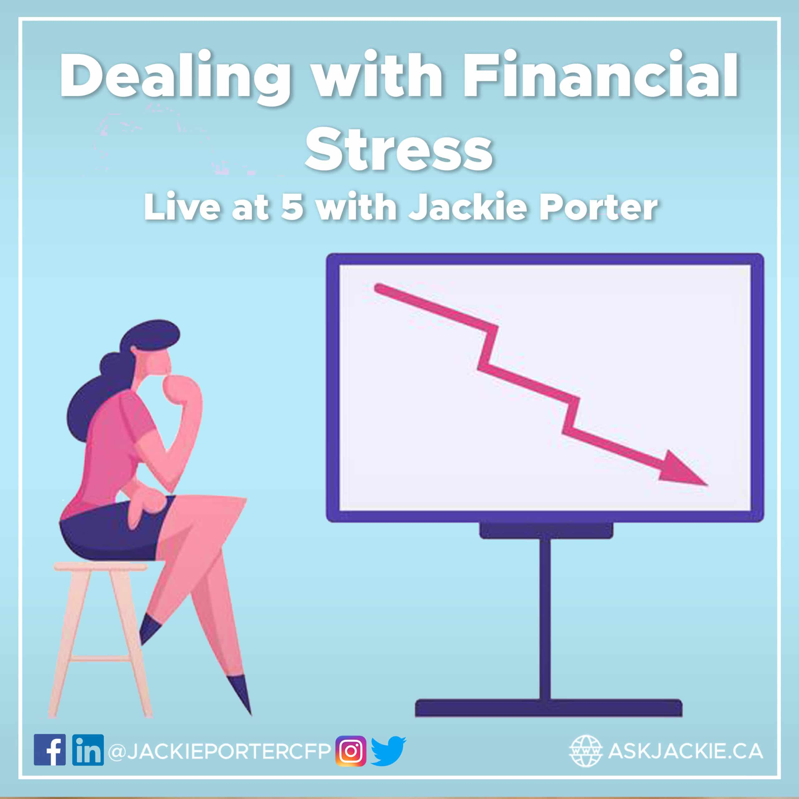 financial stress jackie porter cfp